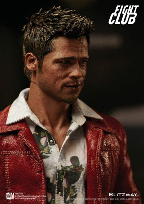 fight club tyler durden   scale action figure red