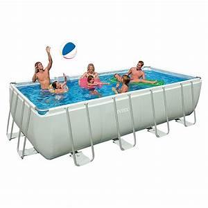 Frame Pool Rechteckig : intex frame pool set ultra quadra 549 x 274 x 132 cm l 8323 null icia null ~ Frokenaadalensverden.com Haus und Dekorationen