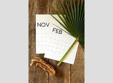 Free Printable Calendar Template 3D 2018 Calendar ! A
