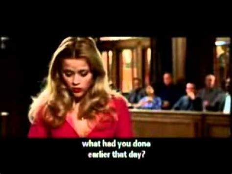Legally Blonde Meme - legally blonde court scene youtube