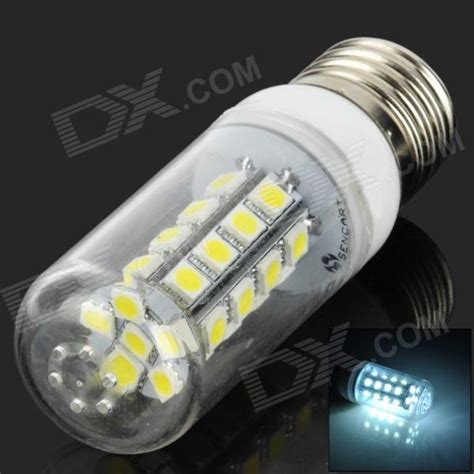 sencart e27 6700k 160lm 30 smd 5050 led white light bulb