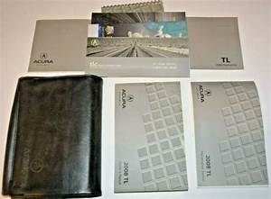 2008 Acura Tl Owners Manual Guide Book Set With Case Oem