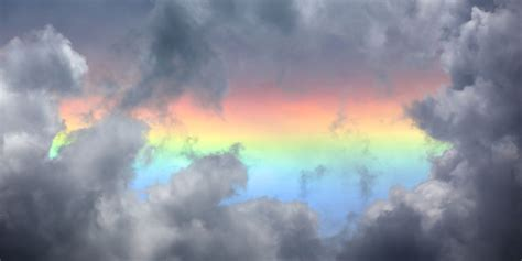rare fire rainbows   britain  week uk