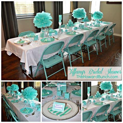 Tiffany Blue Wedding Table Settings Tiffany Bridal Shower
