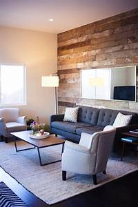 Sneak A Peek // Kate's Industrial Chic Living Room - The ...