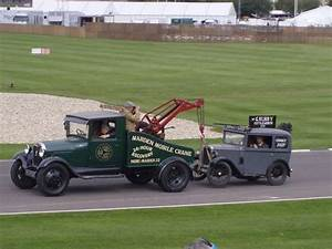 1929 Ford Model A Tow Truck And 1930 Austin 7 Chimney