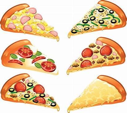 Pizza Slice Vector Clip Illustrations Icons Illustration