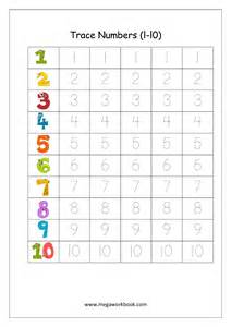 Math Number Writing Worksheets