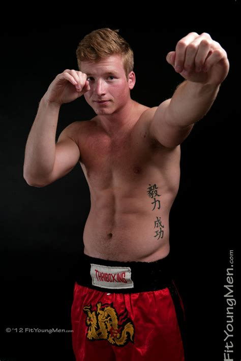 Fit Young Men Model Harry James Kick Boxer Kick Boxing Professional Harry Just Cant Get It