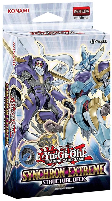 Synchron Extreme Structure Deck  Yugioh!  It's Time To