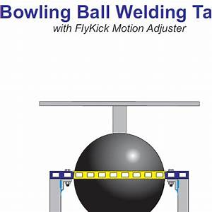 Bowling Ball Welding Table Plans