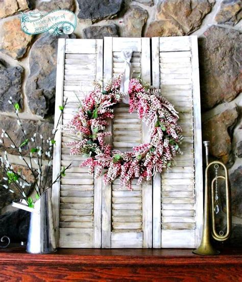 DIY Home Decor: 18 Ways to Repurpose Old Shutters   Style
