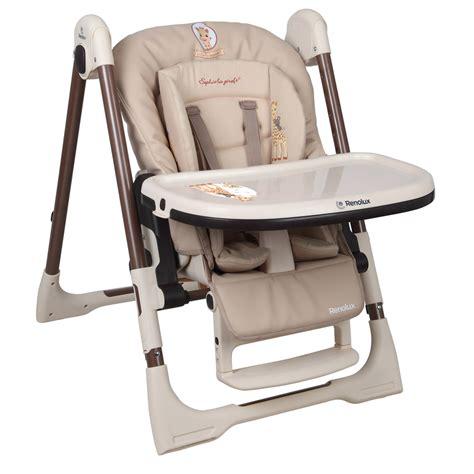 chaise auto bebe chaise haute bébé vision avec réducteur la girafe