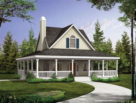 country house plans with wrap around porches the covered porch wraps around the entire 2 bedroom