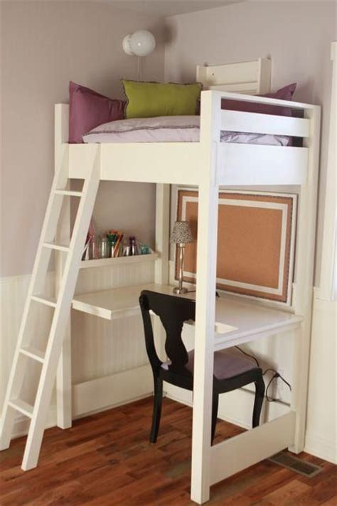 how to have a desk in a small bedroom kid sized reading loft with desk small enough to fit in