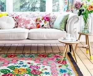 tapis de salon tapis kilim tapis fleur tapis boheme With tapis laine vintage