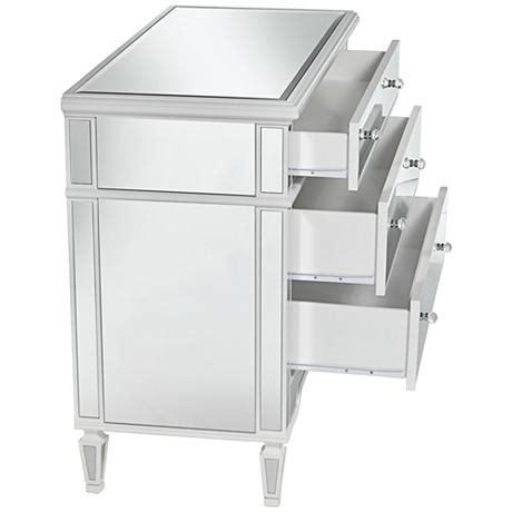 hayworth mirrored 3 drawer dresser hayworth 3 drawer mirrored chest