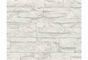 Stein Muster Tapete : as cr ation mustertapete wood n stone tapete natursteinoptik grau weiss ~ Sanjose-hotels-ca.com Haus und Dekorationen