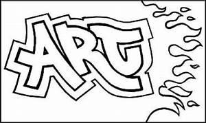Graffiti Names -teach color groups, also teach simple ...