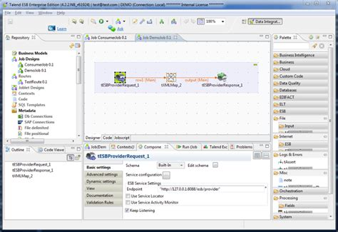 Talend ESB Studio Standard Edition   Eclipse Plugins ...