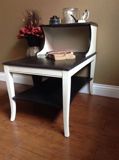 refinished vintage  table etsy vintage  paint