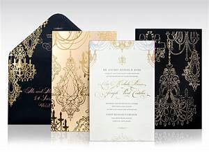foil and laser cut chandelier wedding invitations on behance With wedding invitations laser cut usa