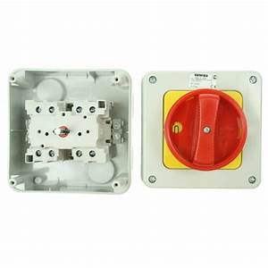 Gewiss 32amp 4 Pole Rotary Isolator At Uk Electrical Supplies