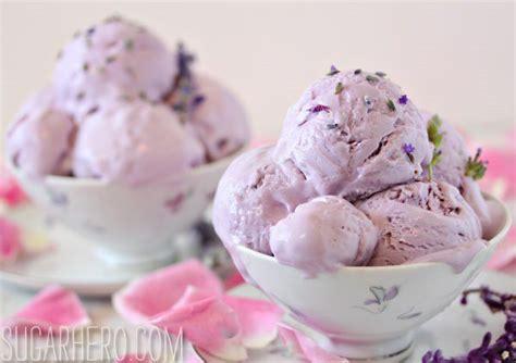 lavender rose ice cream sugarhero
