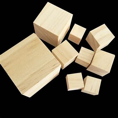 Cube Wood Wooden Blocks Cubes Square Craft