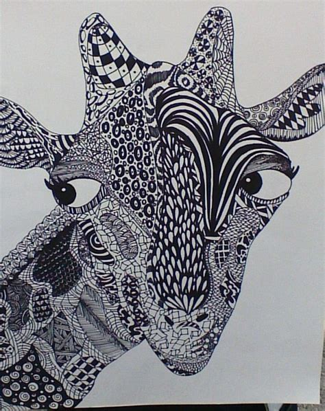 maddison animal zentangle zentangles pinterest