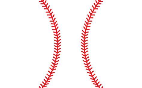 Baseball Stitches Clip Art