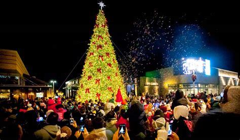 outdoor christmas trees  giant tower trees thomas