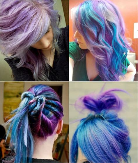 Hair Tips And Ideas Diy Color Hair Blue And Violet