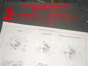 1988 Dodge Daytona Wiring Electrical Service Guide Sheets