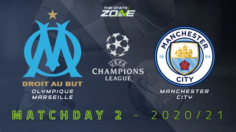 2020-21 UEFA Champions League – Marseille vs Man City ...