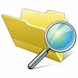 Folder search Icon | Vista Artistic Iconset | Lokas Software