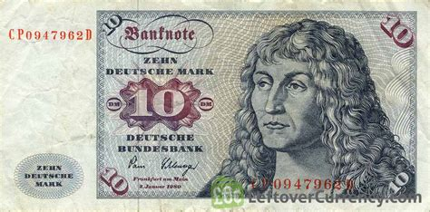 10 deutsche marks sailing ship exchange yours for