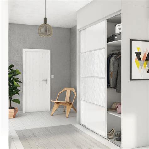 porte placard cuisine leroy merlin porte de placard coulissante à composer spaceo à peindre