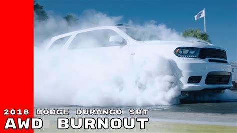 dodge durango srt awd  wheel drive burnout doovi
