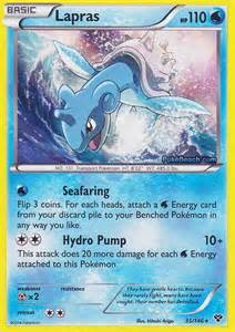 lapras pokemon x and y card review