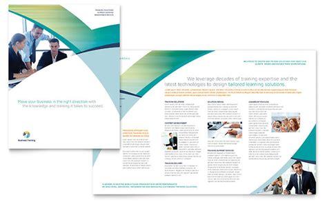 Course Brochure Template by Business Brochure Template Design