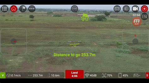 dji tello range test altitude test  return  home test youtube