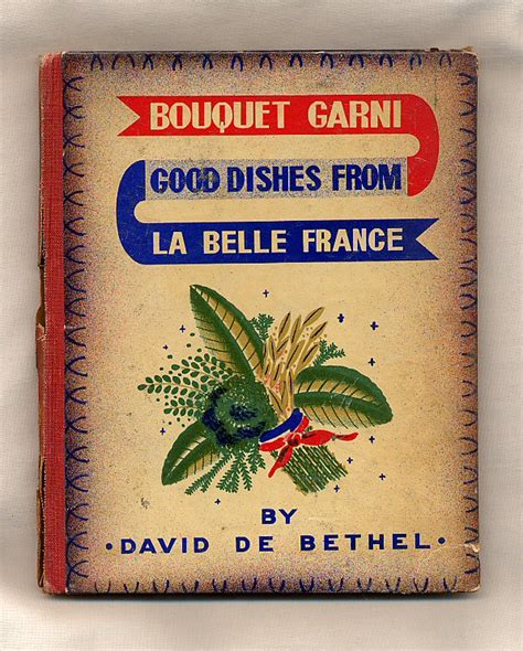 bouquet garni cuisine secondhand books used textbooks out