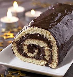 Decoration Buche De Noel Maison : b che de no l la mousse au chocolat les meilleures recettes de cuisine d 39 d lices ~ Preciouscoupons.com Idées de Décoration