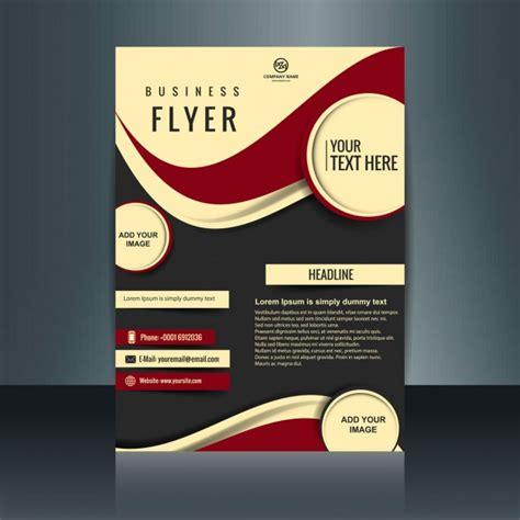 leaflet design templates free download