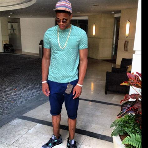 Exclusive Swag Russell Westbrook Flaunts Unique Fashion