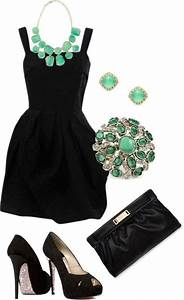 Jewelry color for black dress dream closet pinterest for Jewelry to wear with black dress for wedding
