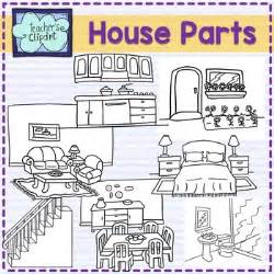 open living house plans parts of the house clip by 39 s clipart tpt