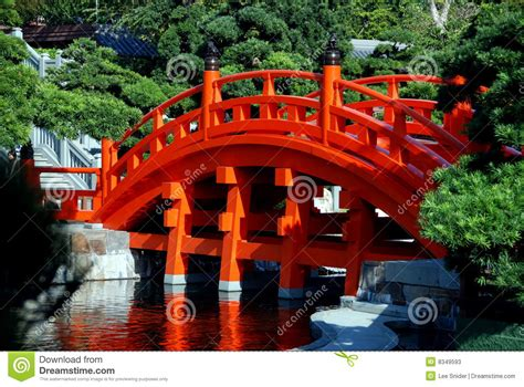Nan Lian Garden Bridge Stock Image