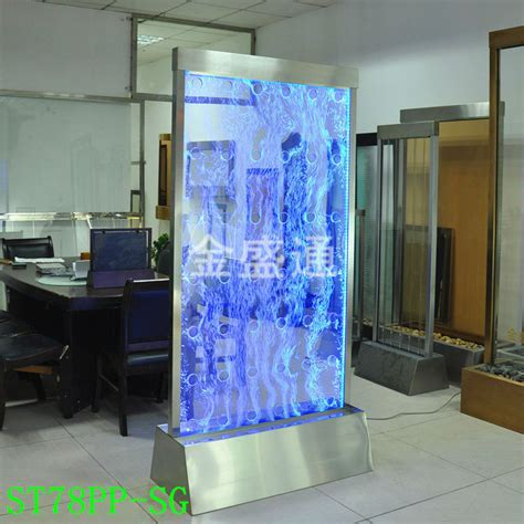 ktv effect led light water wall panel wall divider